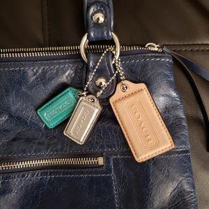 COACH Blue Leather Purse